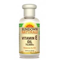 Tinh dầu Vitamin E Nguyên chất Sundown 70.000 IU (75ml) - 2782