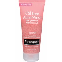 Sữa rửa mặt Neutrogena Oil-Free Acne Wash Pink Grapefruit Foaming Scrub 198ml - 2142