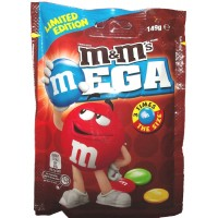 Kẹo milk chocolate M&M Mega 149g - 1661