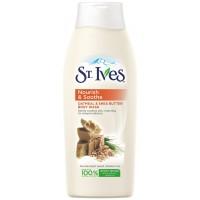 Sữa tắm ST.Ives lúa mạch và bơ 400ml - 1680
