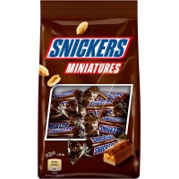 Chocolate Snickers Miniatures 150g - 1974