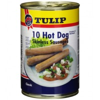 Xúc xích Tulip Hot dog Skinless 415g - 2060