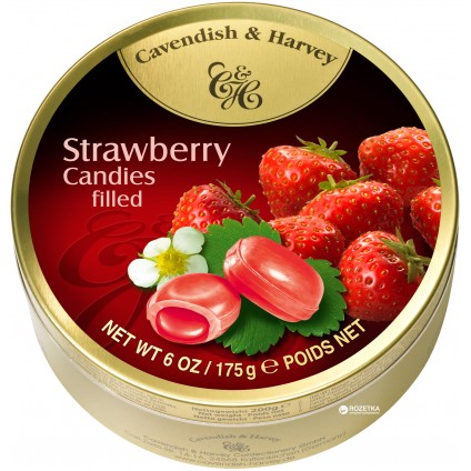 Kẹo ngậm Cavendish & Harvey Strawberry 175g - 2153