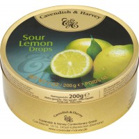 Kẹo ngậm Cavendish & Harvey Lemon Sour 200g - 2160