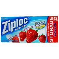 Giấy bọc thực phẩm Ziploc Storage Gallon hộp 52 - 2184
