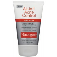 Sữa rửa mặt Neutrogena All in 1 Acne Control 124ml - 2257