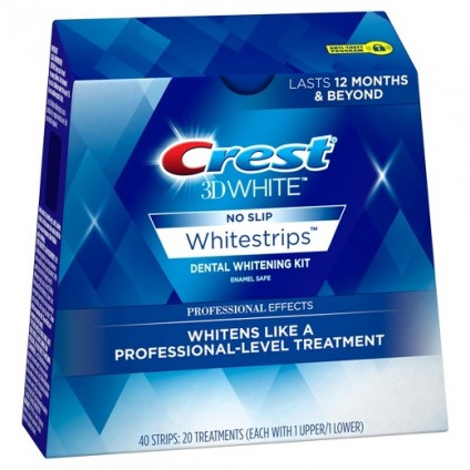 Miếng dán trắng răng Crest 3D White Professional Effects( hộp) - 2484