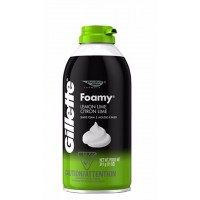 Kem bọt cạo râu Gillette Foamy Lemon Lime 311g - 2516