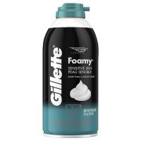 Kem bọt cạo râu Gillette Foamy Sensitive 311g - 2517