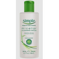 Nước tẩy trang Simple Cleansing Micellar Water 198ml - 2604