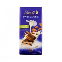 Chocolate Lindt Swiss Milk Chocolate with Almonds 100g - 2618