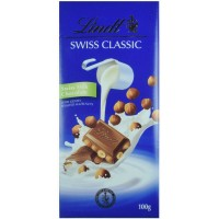 Chocolate Lint Swiss Milk Chocolate with Hazelnuts 100g - 2619