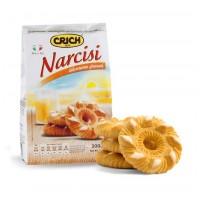 Bánh quy bơ biscut Crich Narcisi nhân  trái cây sữa - 1110