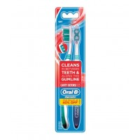 Bộ bàn chải đánh răng Oral-B Cavity Defense - 1425