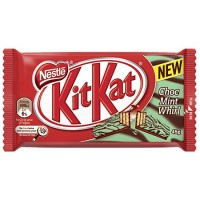 Chocolate KitKat Mint 65g	- 125