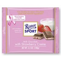 Chocolate Ritter Sport Strawberry Yogurt - 792