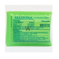 Cao dán trị đau nhức Salonpas Pain Relieving Patch gói 20 miếng - 1058