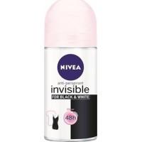 Lăn khử mùi nữ Nivea Invisible Black & White 50ml - 1515