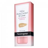 Kem lót giữ ẩm trị mụn Neutrogena Oil-Free Acne Correct & Cover 50ml - 1282