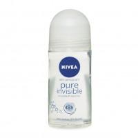 Lăn khử mùi nữ Nivea Pure Invisible 50ml - 1230