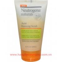 Sữa rửa mặt ngăn ngừa mụn Neutrogena Acne Foaming Scrub - 740