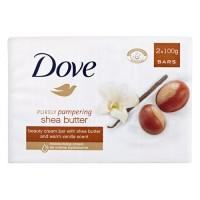 Xà phòng Dove Shea Butter (lốc 2 cục) - 1244