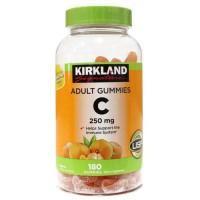 Kẹo dẻo bổ sung Vitamin C Kirkland Adult Gummies C 250mg (180viên)