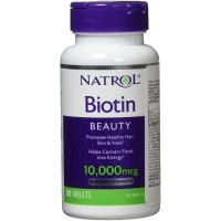 Natrol Biotin 10000mcg Maximum Strength 100 viên