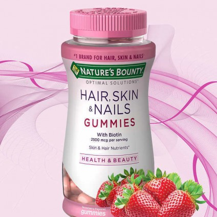 Kẹo dẻo Nature Bounty Hair Skin & Nails 230 viên