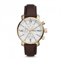 Đồng hồ Fossil Rhett Chronograph Brown Leather BQ1009 - 3053