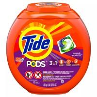 Viên nước giặt Tide Pods Spring Meadow 1.81kg - 72viên - 2842