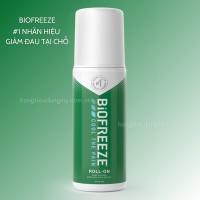 Lăn Xoa Bóp Giảm Đau Biofreeze Pain Relief Roll-On 74ml