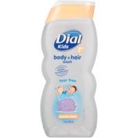 Tắm gội trẻ em Dial Kids peachy clean 354ml