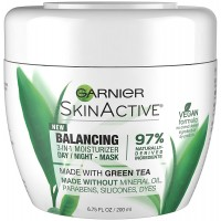 Garnier Balancing 3 in 1 Moisturizer Day, Night, Mask with Green Tea 200ml - 2891