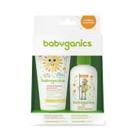 Combo chống nắng và xịt côn trùng Babyganics - 2507