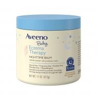 Dưỡng thể trị chàm Aveeno Baby Eczema Therapy Nighttime Balm 312g