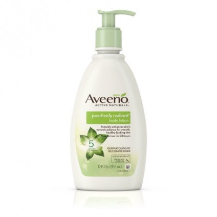 Sữa dưỡng thể Aveeno Positively Radiant Body Lotion 354ml - 2651