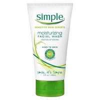 Sữa rửa mặt Simple Sensitive Skin Experts Moisturizing 148ml - 2600