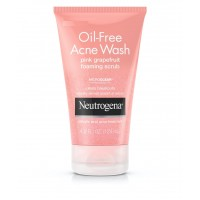 Sữa rửa mặt Neutrogena Oil-Free Acne Wash Pink Grapefruit Foaming Scrub 124ml - 1484