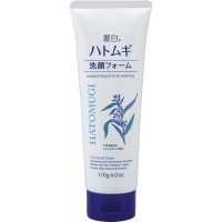 Sữa rửa mặt trắng da Hatomugi 170g