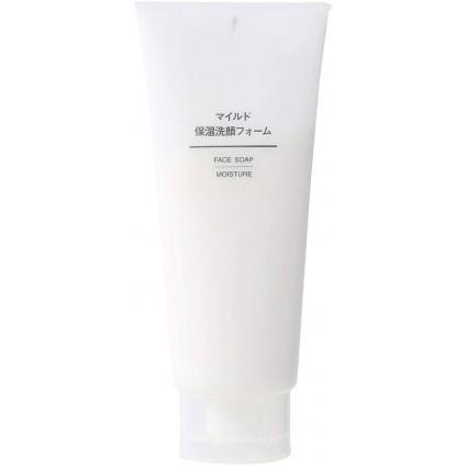 Sữa rửa mặt dưỡng ẩm Muji Face Soap 120g