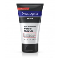 Sữa rửa mặt Neutrogena men razor defense face scrub 124ml