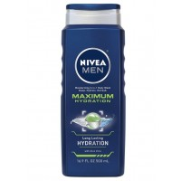 Sữa tắm NIVEA Men Hydration 3 in 1 Body Wash 500ml