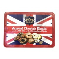 Bánh Luxury Assorted Chocolate Biscuits 450g