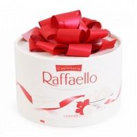 Chocolate dừa Raffaello hộp tròn có nơ 200g