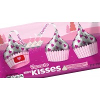 Chocolate Hershey's Kisses Valentines White Cookie Cupcake 283g - 2950