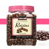 Milk Chocolate Raisins Kirkland 1.5kg  - 1176