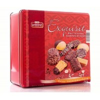 Bánh Biscuit Chocolate Lambertz Exqisit 750g